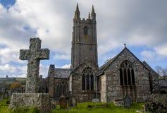 Widecombe kościół Obraz Royalty Free