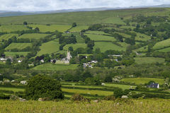 Widecombe-in-the-Moor. Is a very popular tourist destination royalty free stock photography