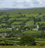 Widecombe-in-the-Moor Royalty Free Stock Image