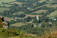 Widecombe-in-the-Moor Stock Photography