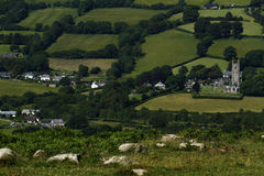 Widecombe-in-the-Moor Royalty Free Stock Photo