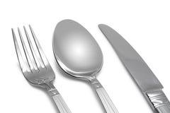 widelec noża spoon Zdjęcia Stock