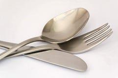 widelec noża spoon Obraz Stock