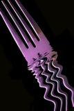 widelec purpurowy zdjęcie stock