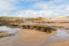 Widemouth Bay Cornwall Stock Images