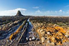 Widemouth Bay Cornwall England Stock Image