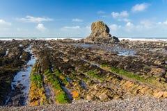 Widemouth Bay Cornwall England Stock Photos