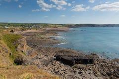 Widemouth Bay near Bude Cornwall England UK Stock Images