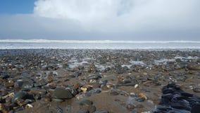 Widemouth-Bucht Stockfotografie