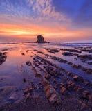 Widemouth-Bucht, Cornwall Lizenzfreie Stockfotos