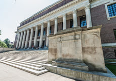 Widener Library of Harvard University Stock Images