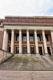 Widener Library at Harvard Yard Harvard University Cambridge MA. Widener Library at Harvard Yard of Harvard University, Cambridge, Massachusetts in USA Royalty Free Stock Image