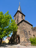 Widenkirche, an ancient church in Weida, Germany Stock Image