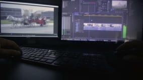 Wideo edytorstwo proces zbiory wideo