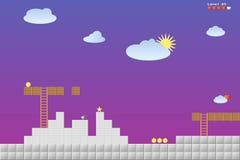 Wideo gry lokacja, arkad gry ilustracji