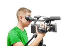 Wideo operator Zdjęcia Stock