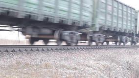 wideo pociąg towarowy zbiory