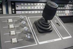 Wideo produkci Switcher telewizi transmisja zdjęcia stock