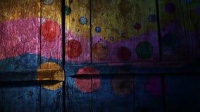 Wideo ruchów graffiti okrąg, cyrk, barwił zbiory