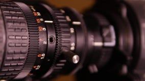 Wideo ruchu zoomu kamera zbiory