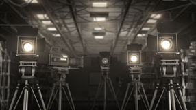 Wideo studio Obraz Stock
