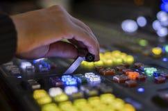Wideo switcher zdjęcie stock