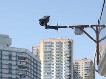 Wideo system kontrolny (CCTV) Obrazy Royalty Free