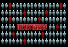 Widerstand Lizenzfreies Stockbild