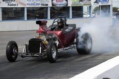 Widerstandauto-Rauchshow Stockfoto