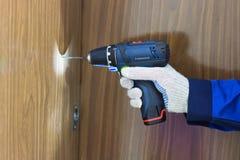 świderu śruby narzędzie Obrazy Stock