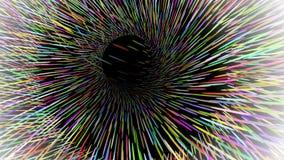 Widescreen bakgrund, korntextur, abstrakt illustration för vektor Arkivbilder