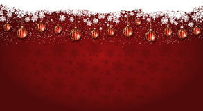 Widescreen Christmas background Royalty Free Stock Photos
