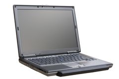 Widescreen Laptop with Palmrest Royalty Free Stock Images