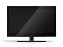 Widescreen lcd display Stock Photo