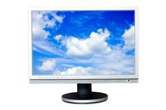 Widescreen LCD panel Stock Photo