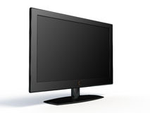 Widescreen lcd tv Stock Images