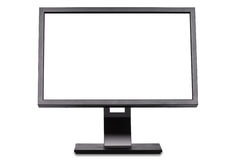 Widescreen monitor Royalty Free Stock Photos