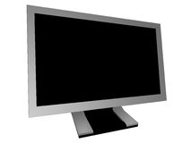 Widescreen Monitor Royalty Free Stock Image