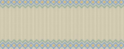 Widescreen seamless pattern can assign to bo pattern for paint b. Widescreen seamless knitting pattern. Real seamless pattern can assign to bo pattern for paint Royalty Free Stock Photography