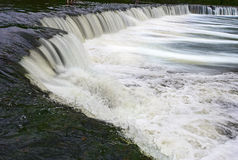 Widest waterfall in Europe Stock Photography