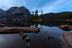 Widgeon Lake Sunset Stock Image