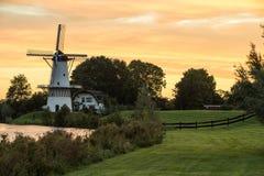 Widmill in Deil stock foto's
