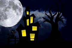 widmowa noc zdjęcia stock