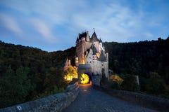 Widmowy Eltz kasztelu whit światła obraz zdjęcie royalty free