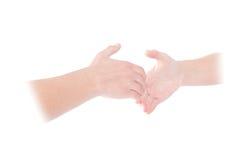 Widmowy uścisk dłoni obraz stock