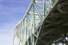 Widnes Runcorn Bridge 4. Detail of Widnes Runcorn Bridge Royalty Free Stock Image