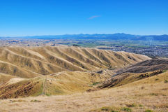 Więdnie wzgórze Fotografia Royalty Free