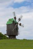 Widnmill in in open air museum near Kiev Stock Image