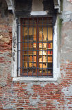 Widnow van Venetië Royalty-vrije Stock Foto