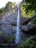 Widoczny Elowah spadki, Oregon obrazy stock